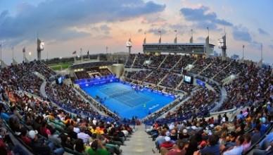 Большой теннис — в Абу Даби —  Mubadala World Tennis Championship