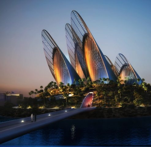 Zayed National Museum by night_Courtesy of TDIC (1280x1246) (600x584)