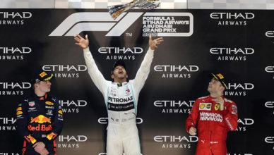 Финал Формулы 1.